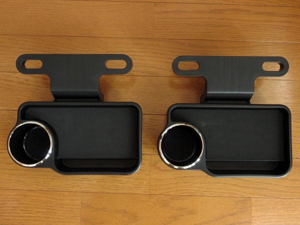 愛車トヨタノア80系にセカンドシート用リアトレイを装着する!