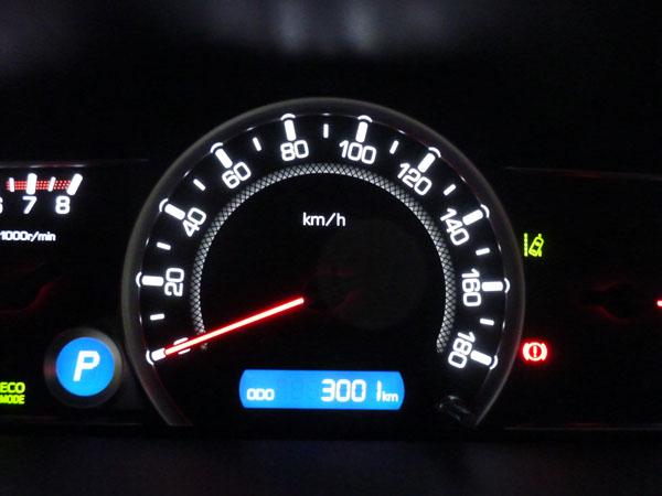 愛車トヨタノア80系の走行距離が3,000kmになりました!