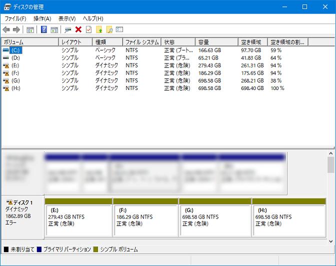 ハードディスクの代替処理保留中のセクタ数が増加する!(2回目)