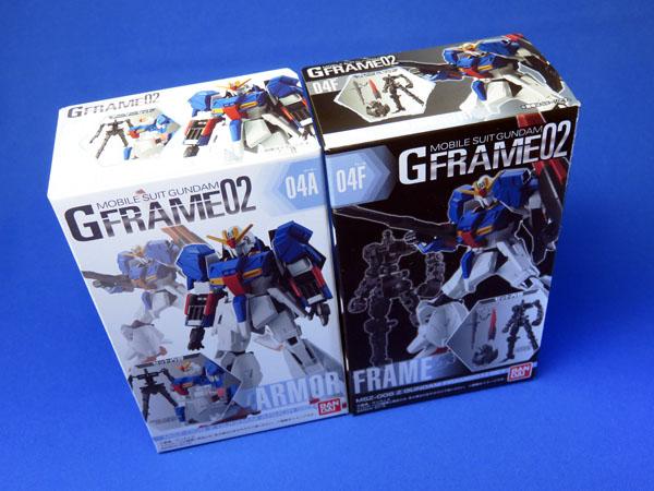 【食玩】機動戦士ガンダム Gフレームシリーズを購入する!