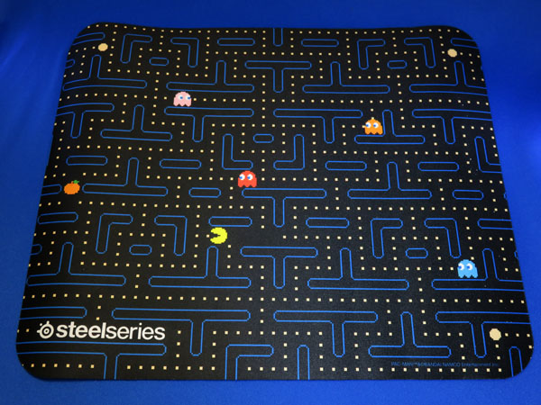 SteelSeries Pac-Man Edition マウスパッドを購入する!