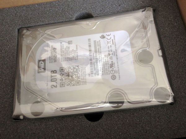 RMS保証制度で良品ハードディスクに交換されて戻ってきた!
