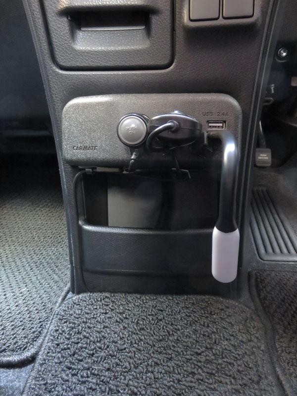 【ダイソー】自動車用USBタッチセンターライト