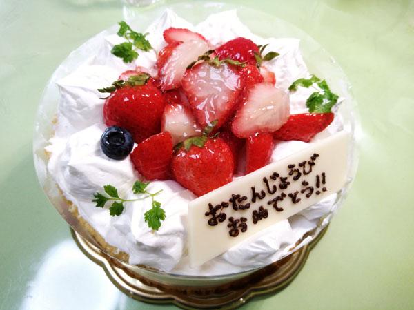 7月7日は奥さんの誕生日でした。