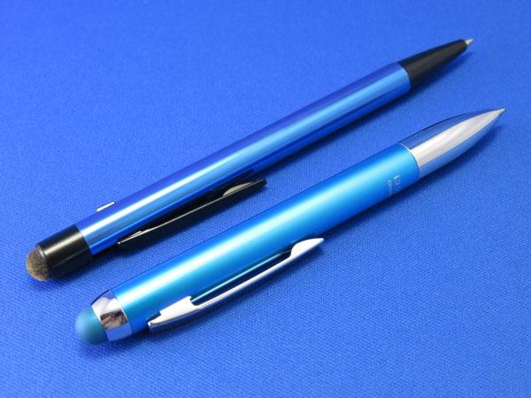三菱鉛筆uniとゼブラのスタイラスペンについて