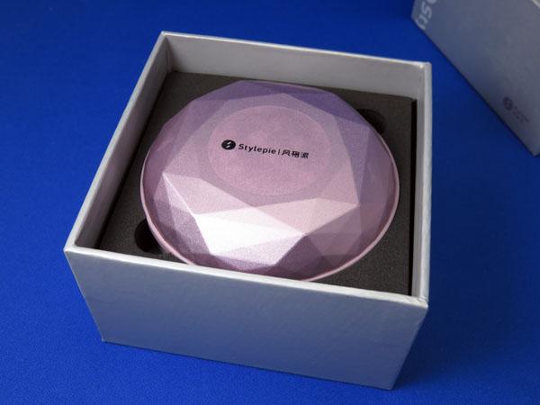 【レビュー記事】STYLEPIE 充電式カイロ/モバイルバッテリー4500mAh 宝石デザイン