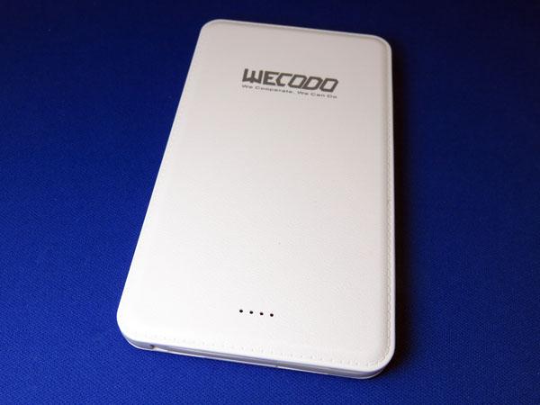 【レビュー記事】WECODO モバイルバッテリー 5000mAh